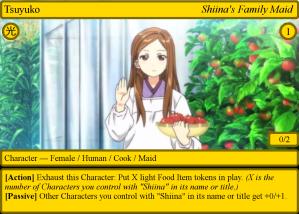 Tsuyuko - Shiina's Family Maid